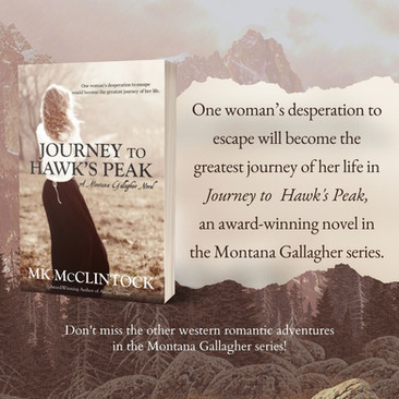 """Exceptional"" - JOURNEY TO HAWK'S PEAK - Historical Romantic Adventure"