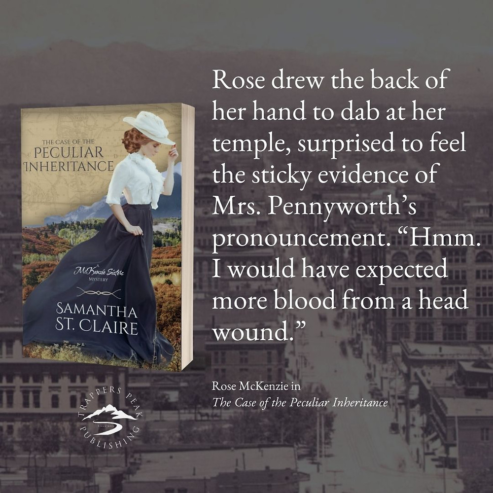 The Case of the Peculiar Inheritance by Samantha St. Claire
