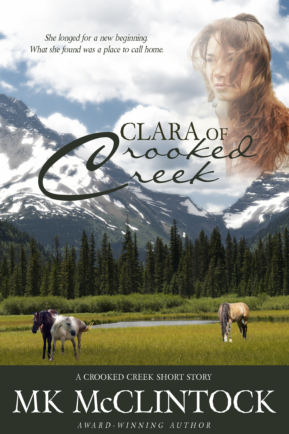 """Clara of Crooked Creek"" by MK McClintock"