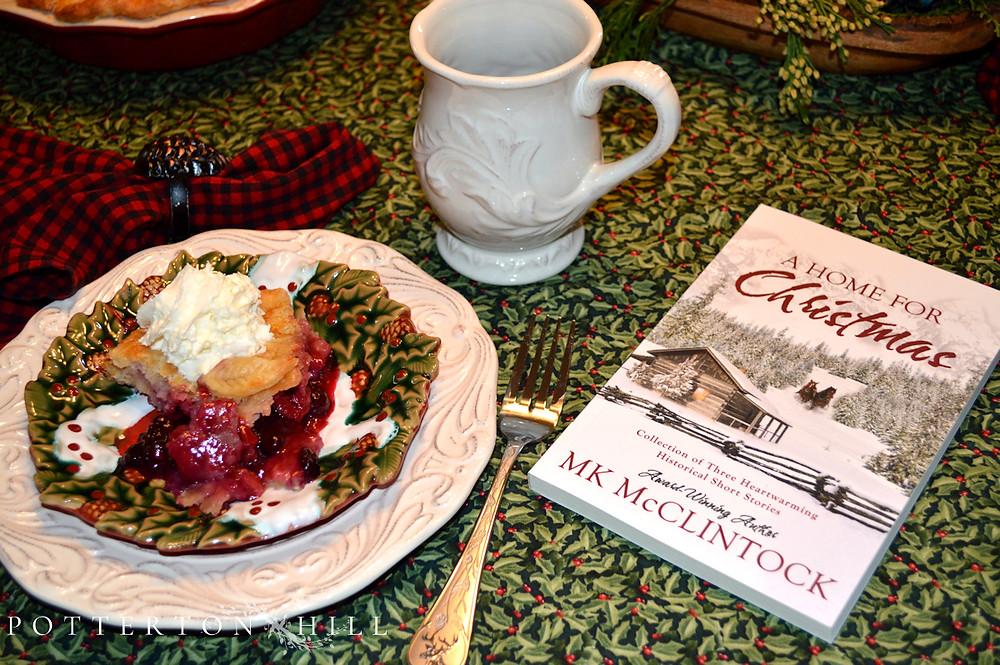 Festive Four-Berry Pie and Book_PottertonHill.com
