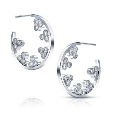 Hoops of diamonds