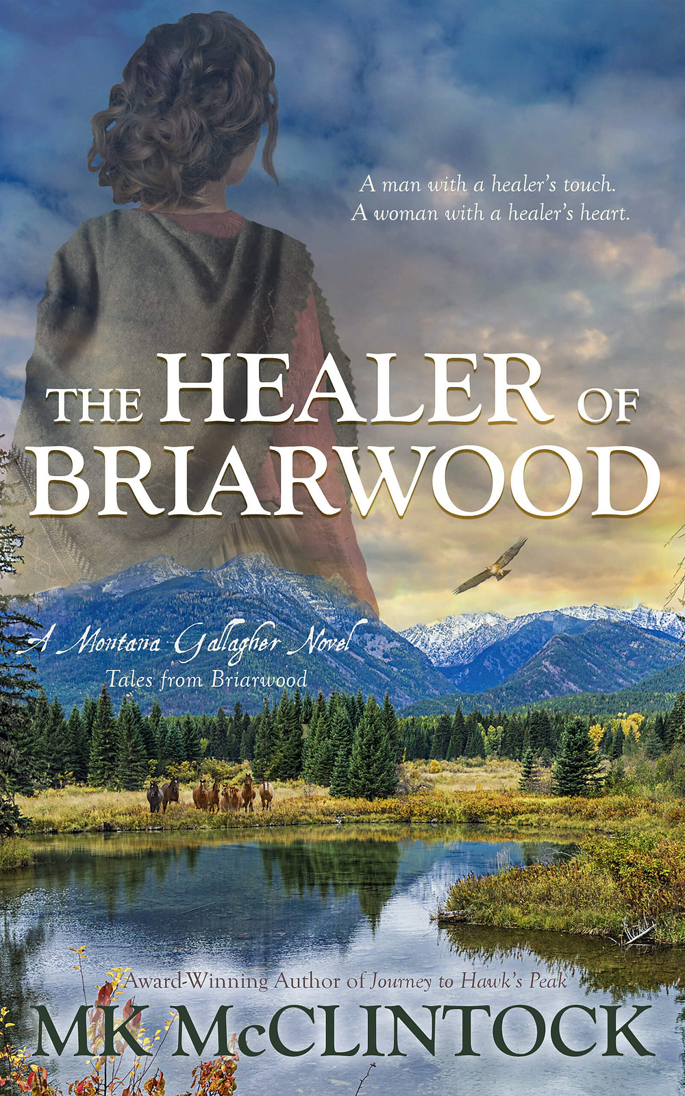 The Healer of Briarwood by MK McClintock - Historical Western Romance