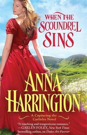 WHEN THE SCOUNDREL SINS: Interview and Excerpt with Author Anna Harrington