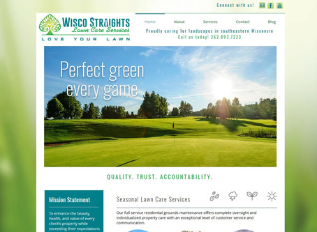 New Website: Wisco Straights Lawn Care Services