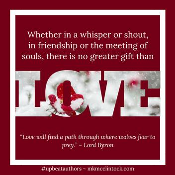 The Power of Love ~ #UpbeatAuthors