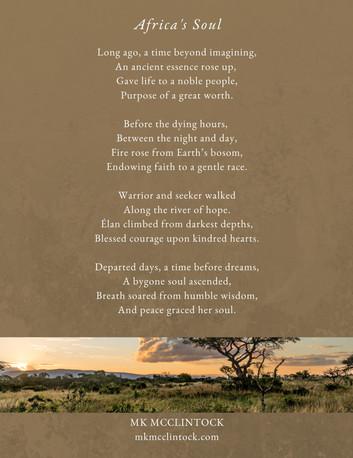 Africa's Soul_poem_MK McClintock