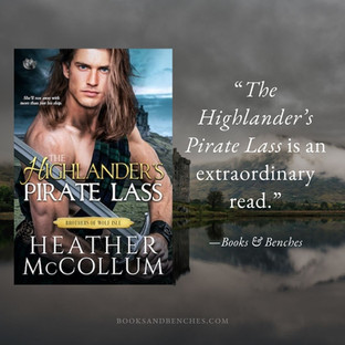THE HIGHLANDER'S PIRATE LASS by Heather McCollum - A Reader's Opinion