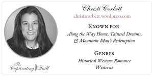 Author Christi Corbett at The Captivating Quill