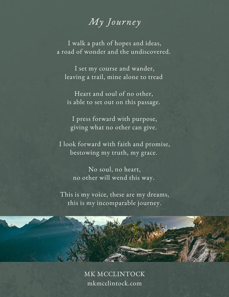 My Journey_poem_MK McClintock