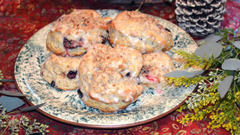 Blueberry Lemon Pecan Scones ~ Writer in the Kitchen