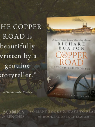"""The Copper Road by Richard Buxton - """"Gripping Read"""" - Interview"""