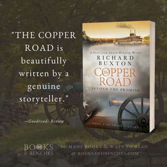 "The Copper Road by Richard Buxton - ""Gripping Read"" - Interview"