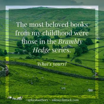 Favorite Childhood Books ~ #UpbeatAuthors