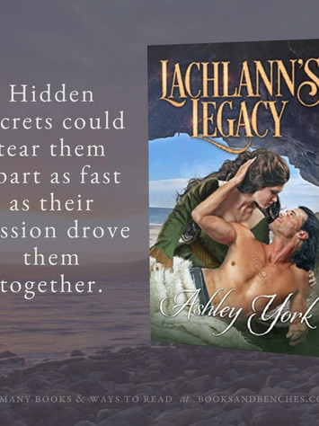 """""""Magnificent"""" - Lachlann's Legacy by Ashley York - Interview"""