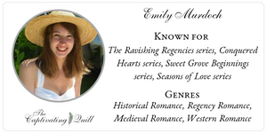 Author Emily Murdoch at The Captivating Quill