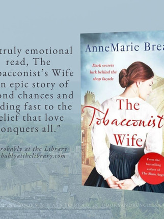 """Captivating"" - The Tobacconist's Wife by AnneMarie Brear - Interview"