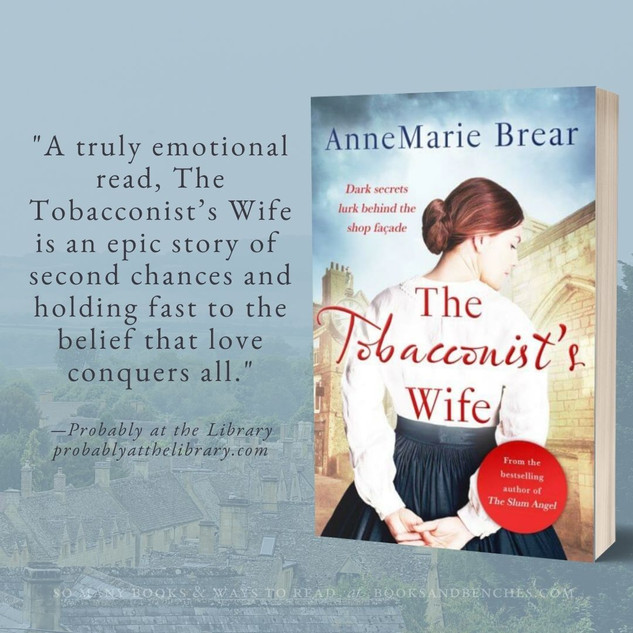 """""""Captivating"""" - The Tobacconist's Wife by AnneMarie Brear - Interview"""