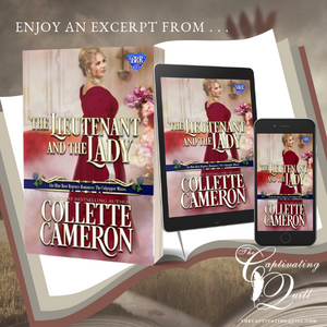 Excerpt from THE LIEUTENANT AND THE LADY by Collette Cameron
