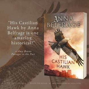 """Sensational"" - His Castilian Hawk by Anna Belfrage - Interview and Excerpt"