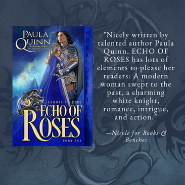 ECHO OF ROSES by Paula Quinn - A Reader's Opinion