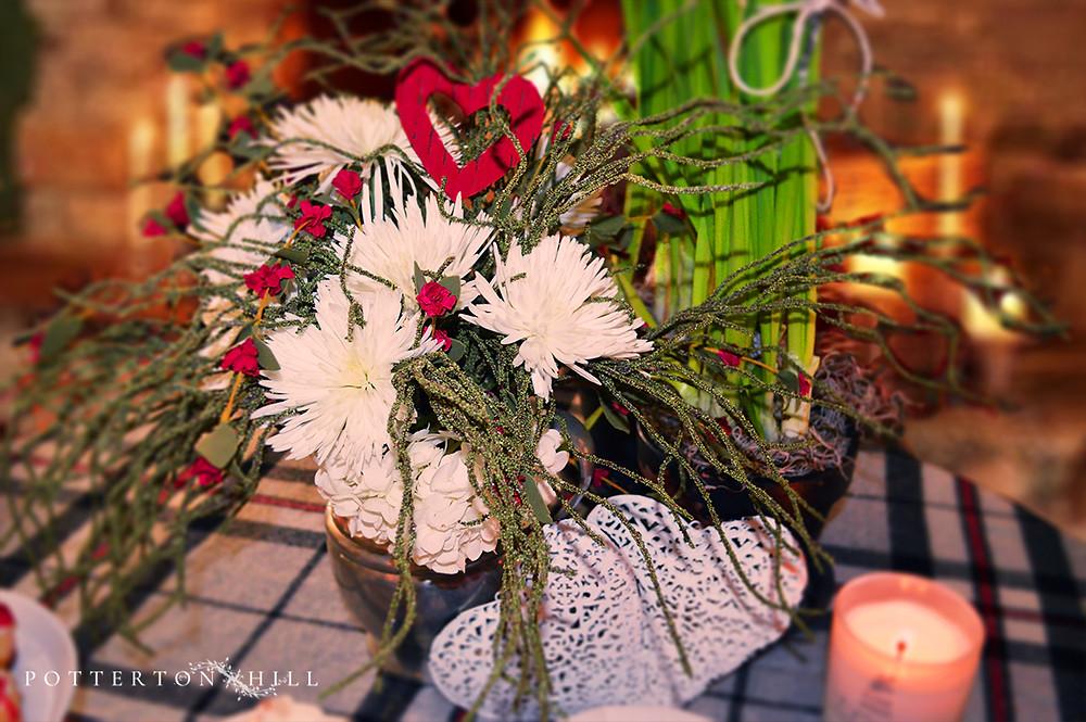 Valentine's Flower Arrangement_PottertonHill.com
