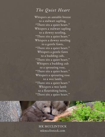 A Quiet Heart_poem_MK McClintock