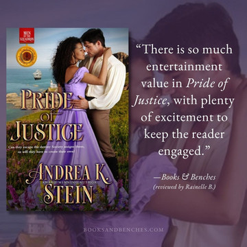 PRIDE OF JUSTICE by Andrea K. Stein- A Reader's Opinion