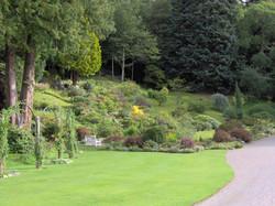 Rock Garden at Ballindalloch Castle