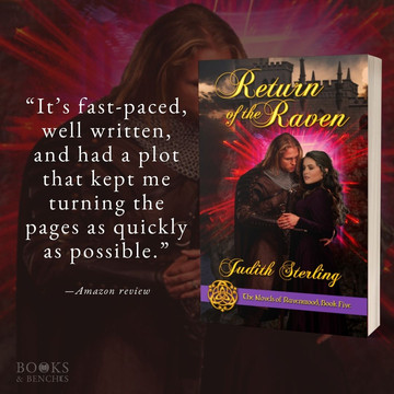 """""""Fantastic"""" - RETURN OF THE RAVEN by Judith Sterling - Excerpt"""