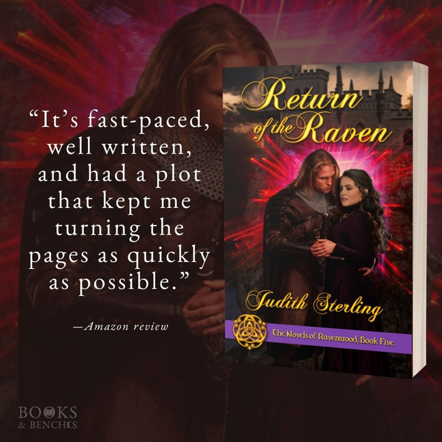 """Fantastic"" - RETURN OF THE RAVEN by Judith Sterling - Excerpt"