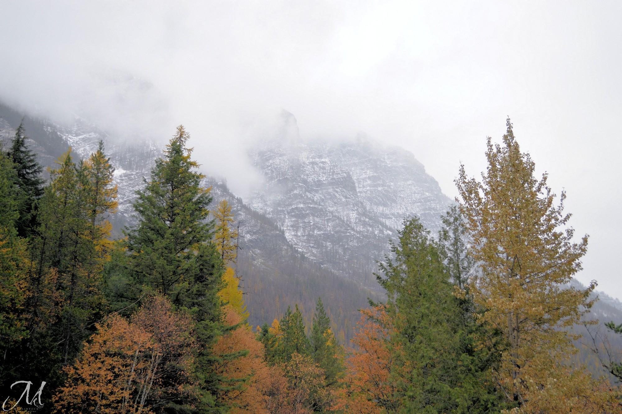 October Rain in Glacier National Park_MKMcClintock | #photography #GlacierPark #mountains #autumn