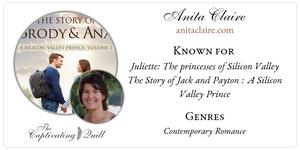 Author Anita Claire