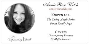 Author Annie Rose Welch