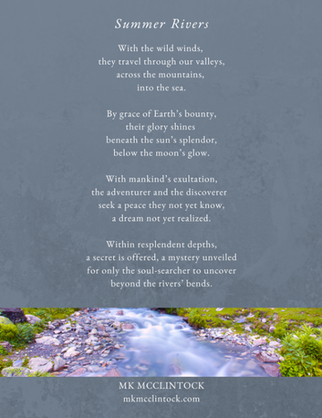 Summer Rivers_poem_MK McClintock