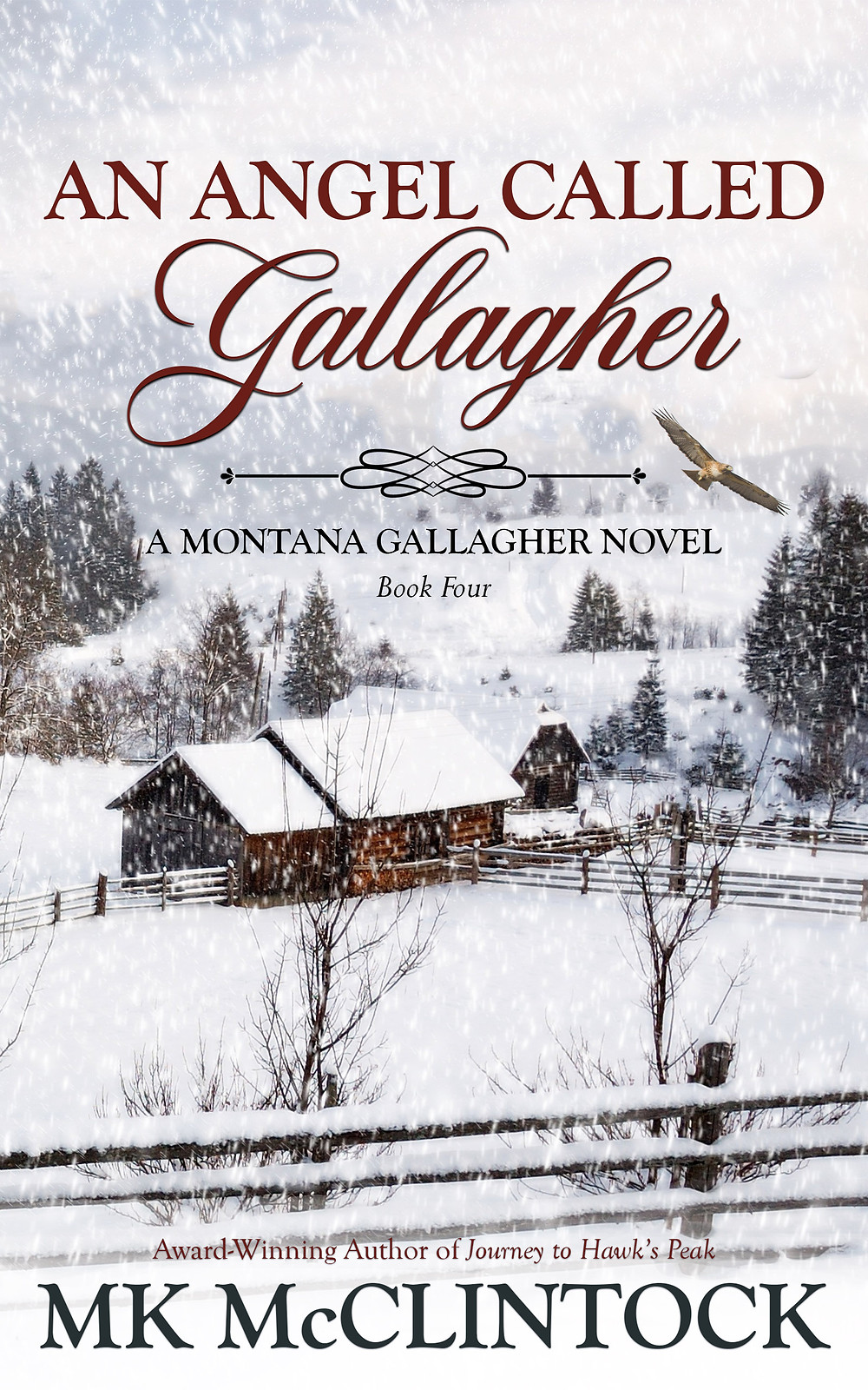 An Angel Called Gallagher by MK McClintock - historical western holiday adventure novel