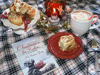 Book Break with Christmas in the Rockies - Easy Cinnamon Rolls