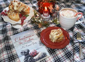 Book Break with Christmas in the Rockies - Easy Cinnamon Rolls