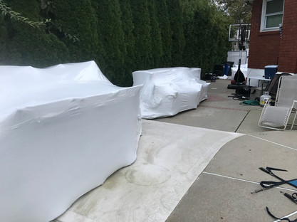 shrink-wrapping