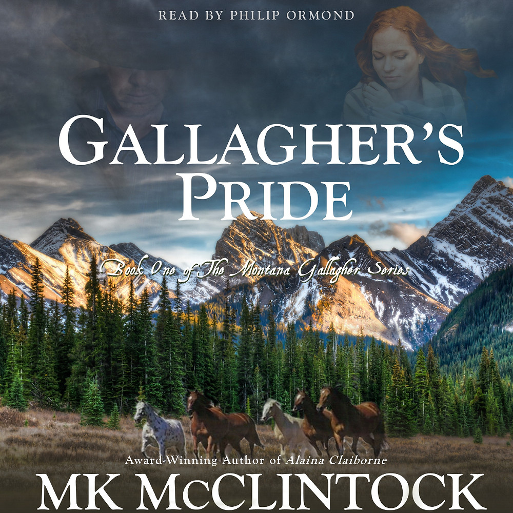Gallagher's Pride Audiobook by MK McClintock - historical western romance novel
