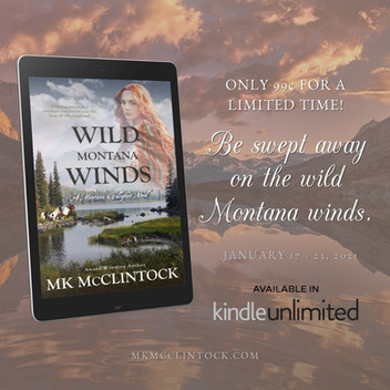 Limited Time Super Discount - Wild Montana Winds