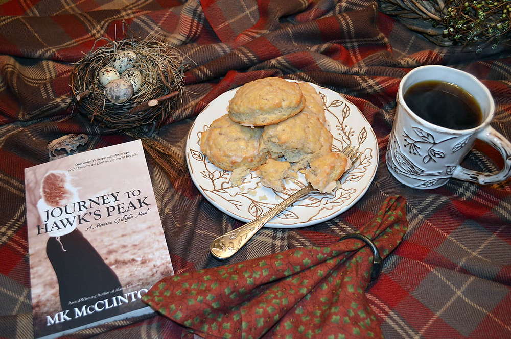 Book Break with Journey to Hawk's Peak - ©MK McClintock #teatime #bookandtea #historicalromance #westernromance