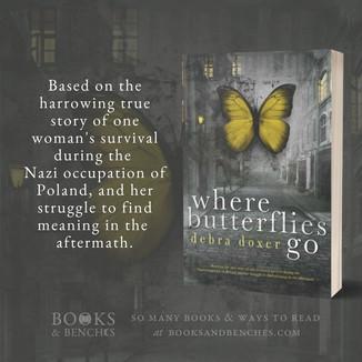 """Stunning"" - Where Butterflies Go by Debra Doxer - Interview"