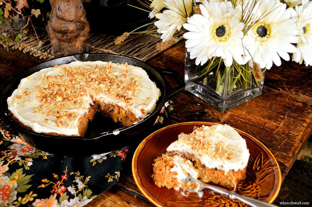 Carrot Cake ©MK McClintock