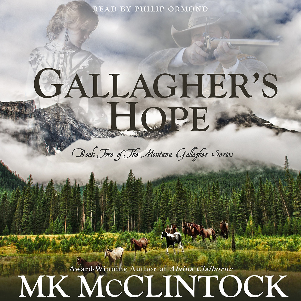 Gallagher's Hope Audiobook by MK McClintock - historical western romance novel