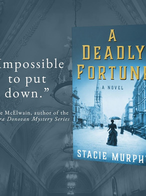 """""""Engrossing"""" - A DEADLY FORTUNE by Stacie Murphy - Excerpt"""