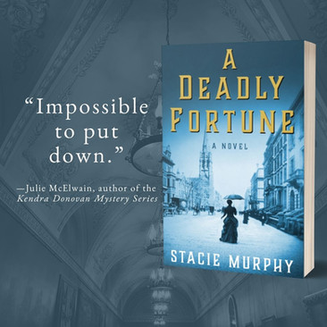 """Engrossing"" - A DEADLY FORTUNE by Stacie Murphy - Excerpt"