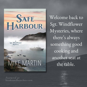 SAFE HARBOUR by Mike Martin - Interview and Excerpt