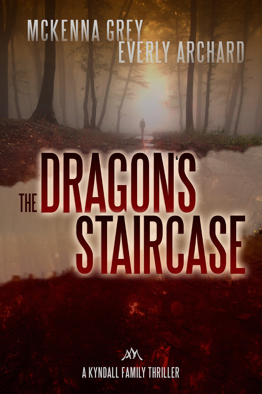 The Dragon's Staircase by McKenna Grey - romantic suspense