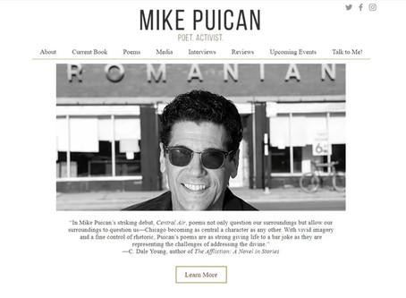 New Website Design: MikePuican.com