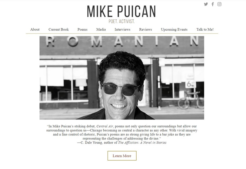 Mike Puican - Poet